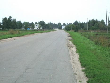 Въезд в Меленск. Август 2006
