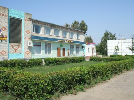 Современная часть Меленска. Август 2007