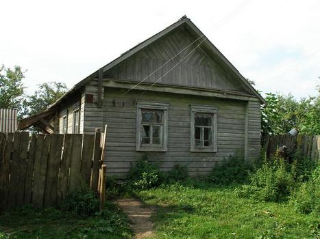 Дом Пелагеи Артемовны Глот (Шамбер). Август 2007